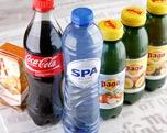 Coca cola 1/2 ltr. petfles