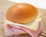 Ham-kaas, bruin brood